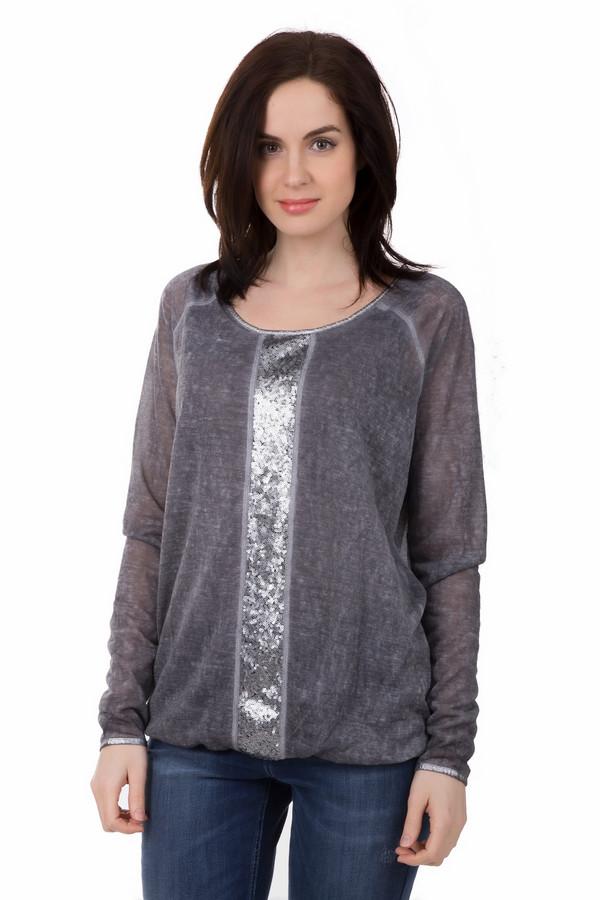 Пуловер LebekПуловеры<br>Серый цвет уникальный – он подходит под всё. Серый женский пуловер от Lebek – тем более. Состав – 100% полиэстер, что делает пуловер легким и воздушным. А свободный покрой поможет скрыть любые недостатки. На задней части изделия есть два декоративных шва, а спереди пуловер дополнительно украшен широкой линией из серых пайеток<br><br>Размер RU: 48<br>Пол: Женский<br>Возраст: Взрослый<br>Материал: полиэстер 100%<br>Цвет: Серый