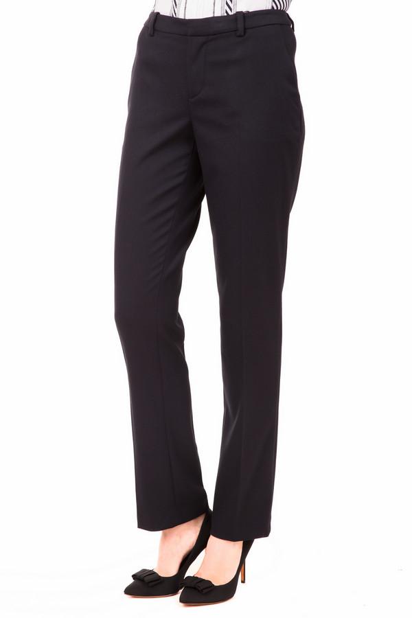 Брюки OuiБрюки<br>Классические черные брюки от Oui должны быть в гардеробе каждой модницы. Слегка зауженные, расклешенные к низу – эти брюки идеально подойдут под всё. Туфли или сапоги, футболка, блузка или джемпер – они будут смотреться стильно со всем. Брюки Oui и Вы круглый год без забот. Состав - 3% эластан, 63% полиэстер, 34% вискоза.<br><br>Размер RU: 48<br>Пол: Женский<br>Возраст: Взрослый<br>Материал: эластан 3%, полиэстер 63%, вискоза 34%<br>Цвет: Чёрный