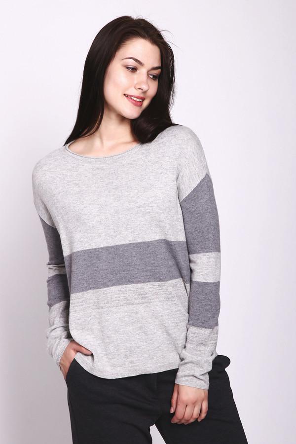 женский пуловер passport, серый