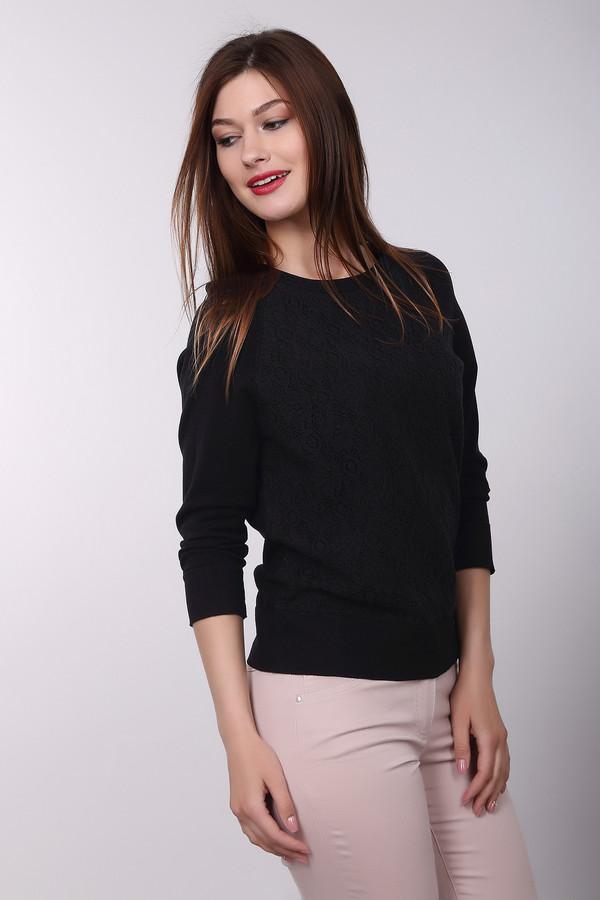 Пуловер PezzoПуловеры<br>Черный пуловер Pezzo - это кошачья гибкость и грациозность. Всегда в моде простой и стильный крой, подчеркивающий изгибы фигуры. Удобный рукав на ? даст ощущения свободы и комфорта. Пуловер универсален и выгодно смотрится в любых комбинациях. Вискоза и нейлон в составе ткани обеспечат отсутствия катышков и долговечность самого изделия.<br><br>Размер RU: 48<br>Пол: Женский<br>Возраст: Взрослый<br>Материал: вискоза 80%, нейлон 20%<br>Цвет: Чёрный