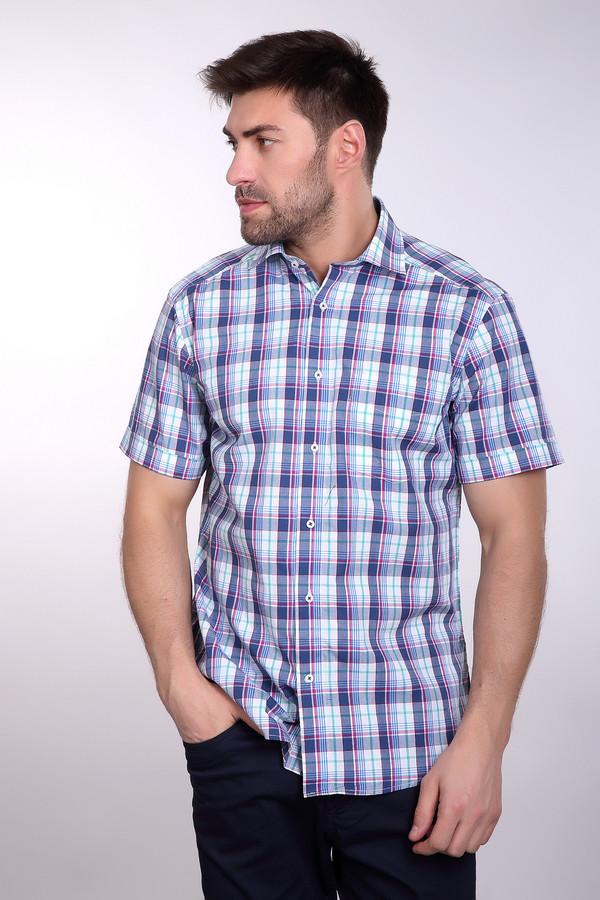 Мужские рубашки с коротким рукавом PezzoКороткий рукав<br>Стильная мужская рубашка с коротким Pezzo, вечно актуальная клетка современный крой. Удачный принт привлекает взгляд и выделит вас из толпы. Сделана из 100% хлопка поэтому очень подходит для жарких летних и теплых весенних дней. Крой рубашки позволяет носить так же и на выпуск во время вечерних прогулок.<br><br>Размер RU: 40<br>Пол: Мужской<br>Возраст: Взрослый<br>Материал: хлопок 100%<br>Цвет: Разноцветный