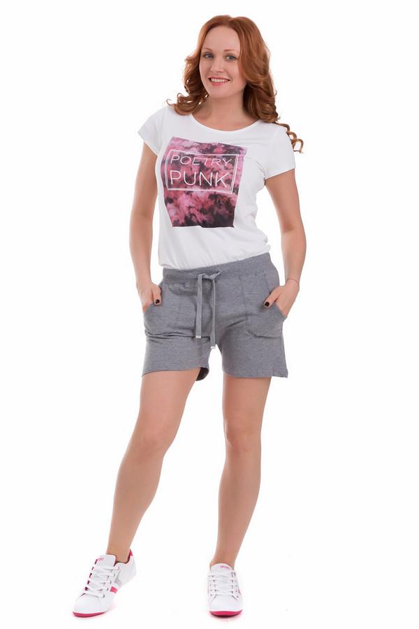 Шорты PezzoШорты<br>Шорты Pezzo серые женские. Эта модель просто великолепна по своему внешнему виду и функциональности. Рекомендуем носить ее с одеждой в спортивном стиле, в таких шортах вы будете просто неотразимы на беговой дорожке, и на прогулке по городу. Состав: хлопок плюс спандекс, а что может быть лучше для жаркого лета? Чудесно сочетается с самым разным верхом.<br><br>Размер RU: 42<br>Пол: Женский<br>Возраст: Взрослый<br>Материал: хлопок 95%, спандекс 5%<br>Цвет: Серый