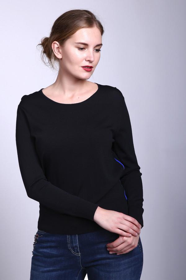 Пуловер PezzoПуловеры<br>Пуловер Pezzo черный. Что может быть лучше, чем маленькое черное платье или пуловер в стиле минимализма того же цвета? Более идеального комби-партнера просто сложно найти. Сочетайте эту демисезонную вещь с различными юбками и брюками (как деловыми, так и более свободными и неформальными), однозначно - вы будете в нем на высоте. Состав: вискоза плюс нейлон.<br><br>Размер RU: 50<br>Пол: Женский<br>Возраст: Взрослый<br>Материал: вискоза 63%, нейлон 37%<br>Цвет: Чёрный