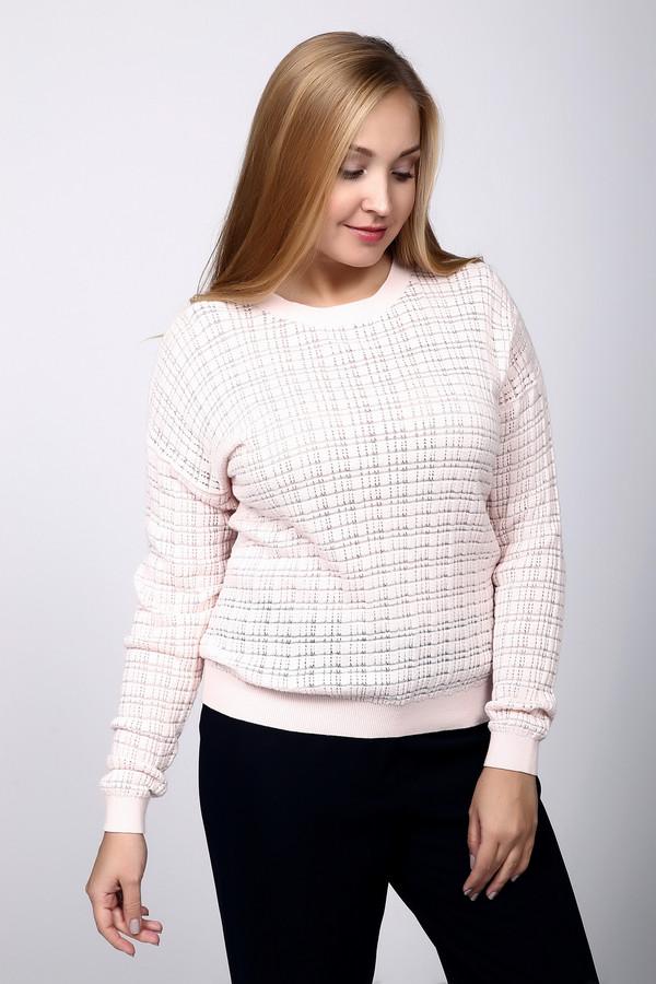 Пуловер PezzoПуловеры<br>Пуловер Pezzo розовый. Невесомый и легкий, как пух, этот пуловер понравится всем тем, кто любит изящество и хочет выглядеть женственно. Необычный узор в ажурную клетку – главное достоинство предлагаемой модели. Состав: хлопок плюс нейлон. Сочетается с самыми разными брюками и юбками. Снизу и на манжетах пуловер собран на резинки. Демисезонная модель.