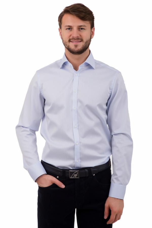 Рубашка с длинным рукавом VentiДлинный рукав<br>Рубашка с длинным рукавом Venti. Нежно-голубая рубашка – это отличная возможность для мужчины выглядеть молодо и респектабельно. Состав ткани: 100%-ный хлопок, поэтому данное изделие будет не только великолепно смотреться, но еще и быть комфортным к телу, удобным в носке. Рекомендуется сочетать данное изделие с брюками делового стиля и более неформальными моделями, например, джинсами.<br><br>Размер RU: 39<br>Пол: Мужской<br>Возраст: Взрослый<br>Материал: хлопок 100%<br>Цвет: Голубой