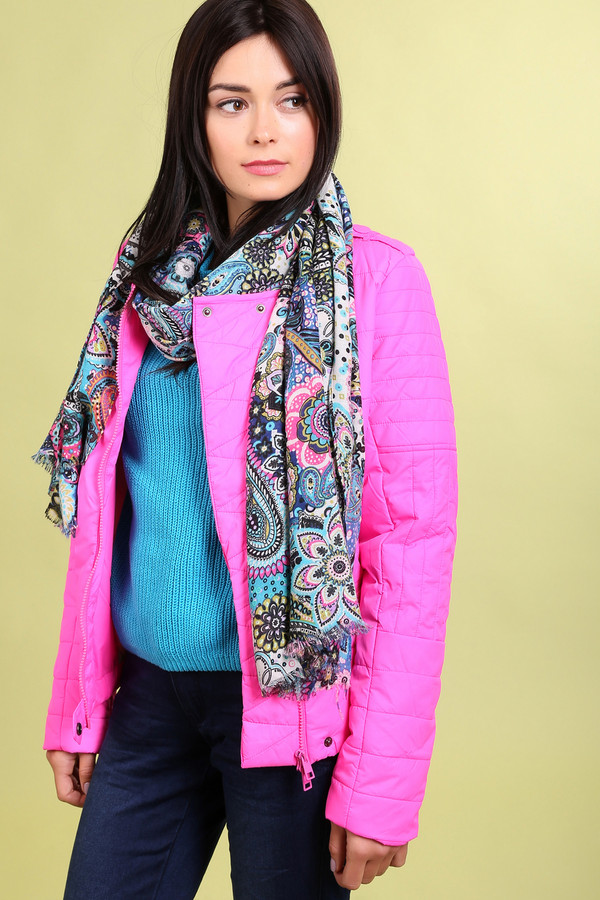 Куртка LocustКуртки<br>Куртка Locust ярко-розовая. В такой курточке остаться незамеченной просто нереально. Выглядеть ярко и свежо – так просто! Удобный функциональный дизайн этой вещи – еще один ее плюс. Асимметричная застежка на молнию и кнопочки, наличие горизонтальных и вертикальных карманов на молнии, замочки на рукавах и пуговичка внизу куртки – все достоинства этой модели тяжело перечислить. Состав: нейлон, подкладка: полиэстер.<br><br>Размер RU: 48-50<br>Пол: Женский<br>Возраст: Взрослый<br>Материал: нейлон 100%, Состав_подкладка полиэстер 100%<br>Цвет: Розовый