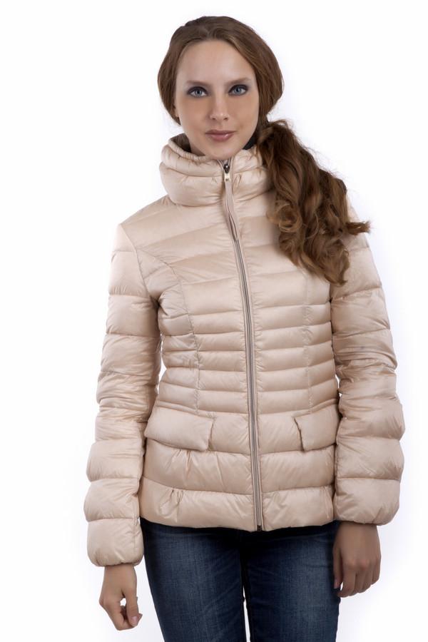 Куртка Just ValeriКуртки<br>Куртка Just Valeri представлена в двух цветах. Приталенный крой, воротник-стойка, центральная застежка-молния, два боковых кармана. Пуховик из приятного на ощупь качественного материала. Женственное изделие нежного оттенка несомненный тренд этого сезона.  Подкладка 100% нейлон.   Утеплитель 90% утиный пух, 10% утиное перо<br><br>Размер RU: 46<br>Пол: Женский<br>Возраст: Взрослый<br>Материал: полиэстер 100%<br>Цвет: Бежевый