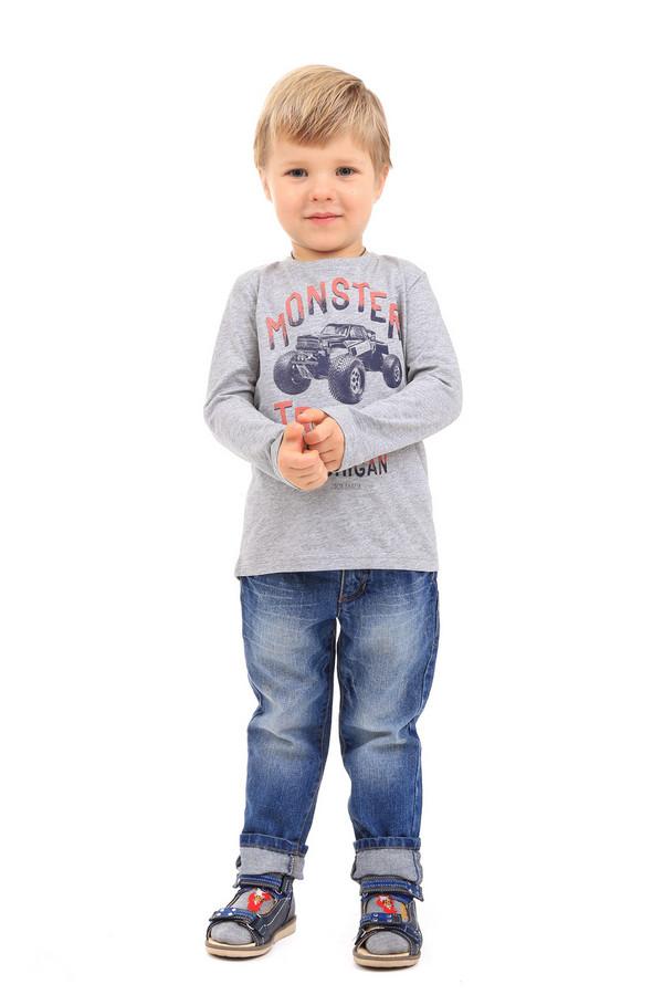 Футболка Tom TailorФутболки<br><br><br>Размер RU: 30;116-122<br>Пол: Мужской<br>Возраст: Детский<br>Материал: хлопок 90%, вискоза 10%<br>Цвет: Серый