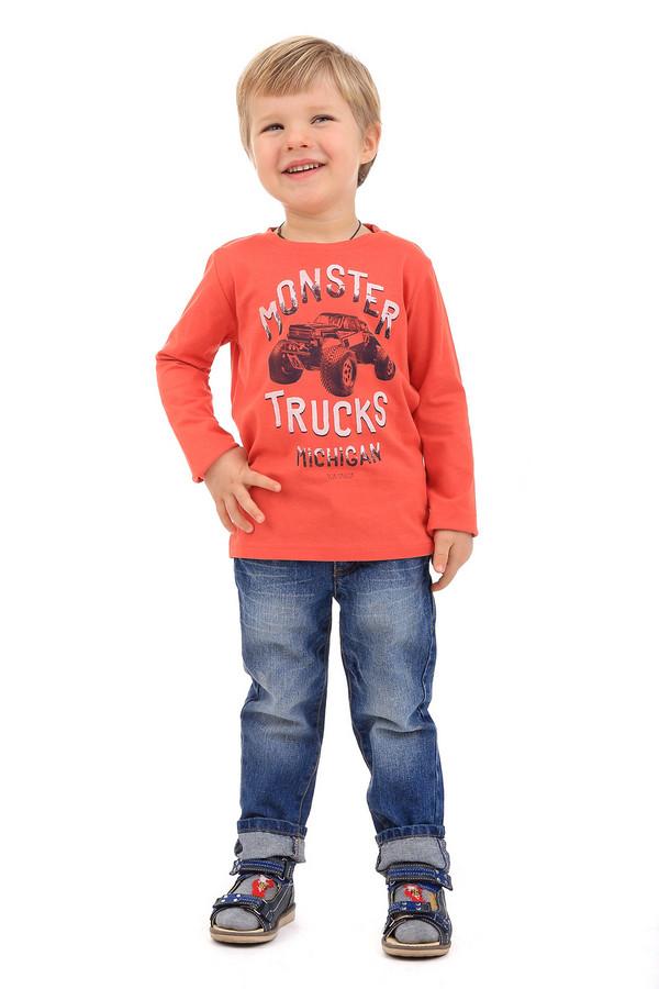 Футболка Tom TailorФутболки<br><br><br>Размер RU: 26;92-98<br>Пол: Мужской<br>Возраст: Детский<br>Материал: хлопок 100%<br>Цвет: Оранжевый