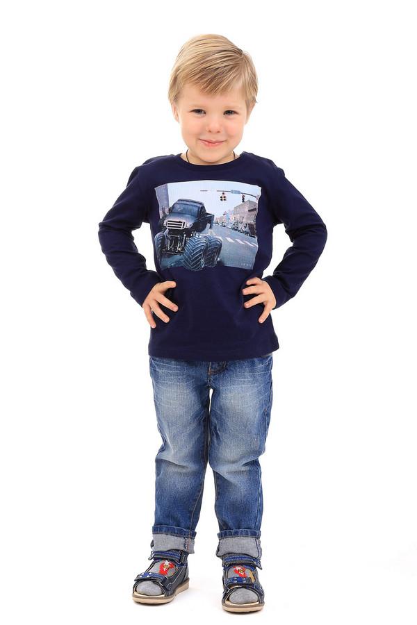 Футболка Tom TailorФутболки<br><br><br>Размер RU: 28;104-110<br>Пол: Мужской<br>Возраст: Детский<br>Материал: хлопок 100%<br>Цвет: Синий