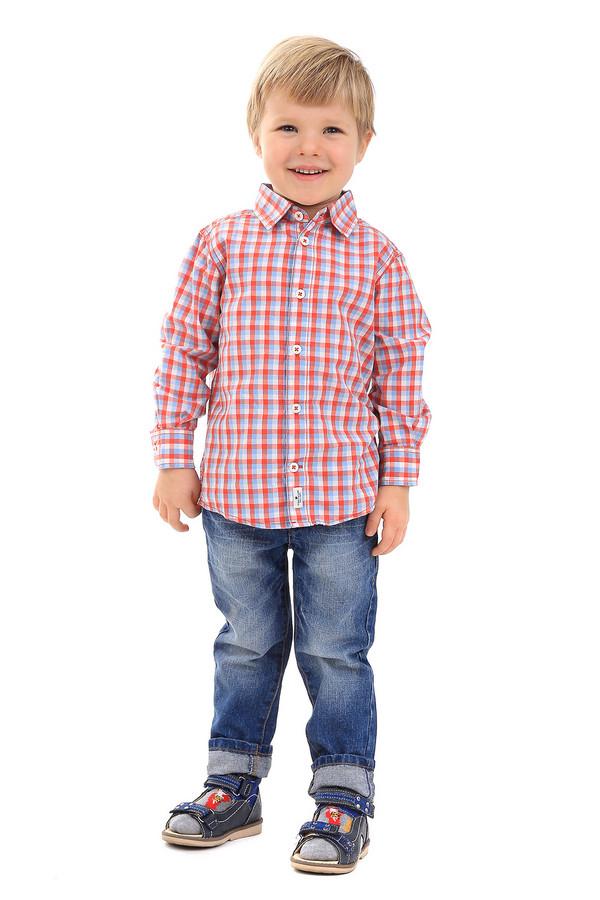 Рубашка Tom TailorРубашки<br><br><br>Размер RU: 30;116-122<br>Пол: Мужской<br>Возраст: Детский<br>Материал: хлопок 100%<br>Цвет: Разноцветный