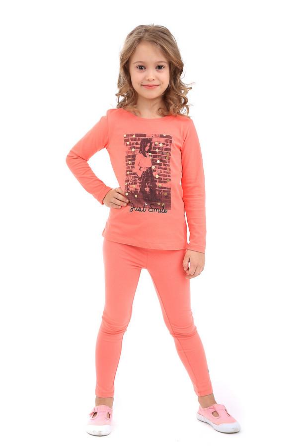 Леггинсы Tom TailorЛеггинсы<br><br><br>Размер RU: 32-34;128-134<br>Пол: Женский<br>Возраст: Детский<br>Материал: эластан 5%, хлопок 95%<br>Цвет: Оранжевый
