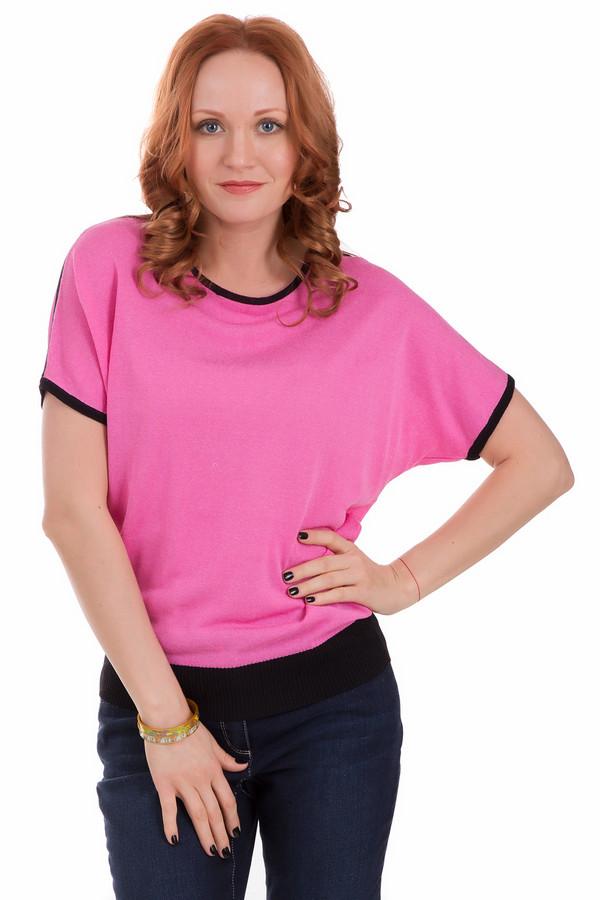 Пуловер PezzoПуловеры<br>Пуловер Pezzo розовый. Отличный выбор для элегантной женщины. Вы любите все яркое и неординарное, хотите выделяться в толпе и притягивать к себе восхищенные взгляды? Тогда выбор за вами. Черная резинка по низу и отделка рукавов того же цвета оттеняют сочный фон изделия. Рукав покроя летучая мышь уже многие годы на пике популярности. Состав: хлопок и вискоза.<br><br>Размер RU: 48<br>Пол: Женский<br>Возраст: Взрослый<br>Материал: вискоза 70%, хлопок 30%<br>Цвет: Розовый