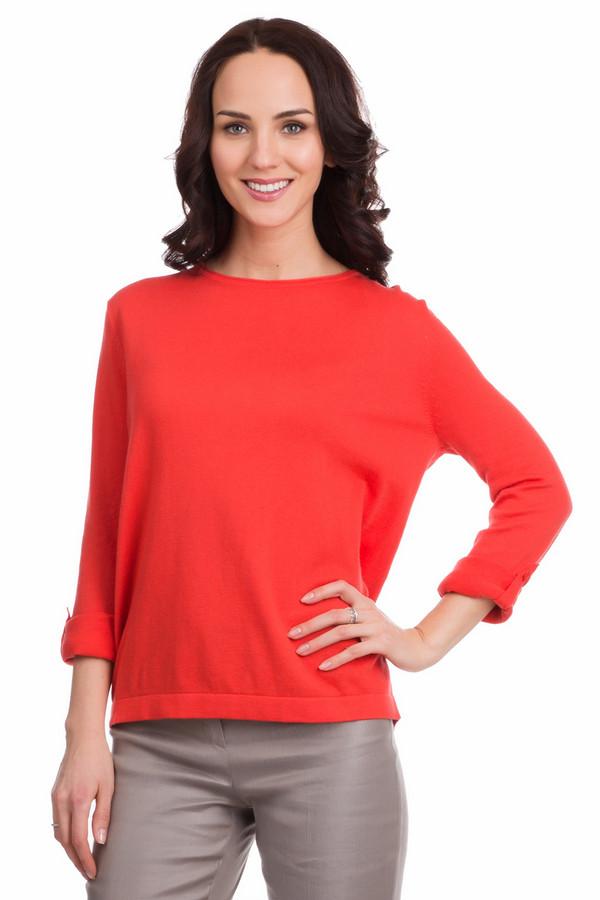 Пуловер PezzoПуловеры<br>Пуловер Pezzo красный. Яркая и привлекательная, эта модель – хит сезона. Вы будете в ней просто неотразимы. В таком пуловере можно пойти на романтическое свидание, на прогулку, в гости и даже на работу, он универсален! Состав: полиамид, шелк, хлопок. Интересные детали пуловера: декоративная застежка сзади на пуговицы и регулируемый рукав, который может быть как длинным, так и ?, если закрепить его пуговичками.<br><br>Размер RU: 54<br>Пол: Женский<br>Возраст: Взрослый<br>Материал: полиамид 20%, шелк 10%, хлопок 70%<br>Цвет: Красный