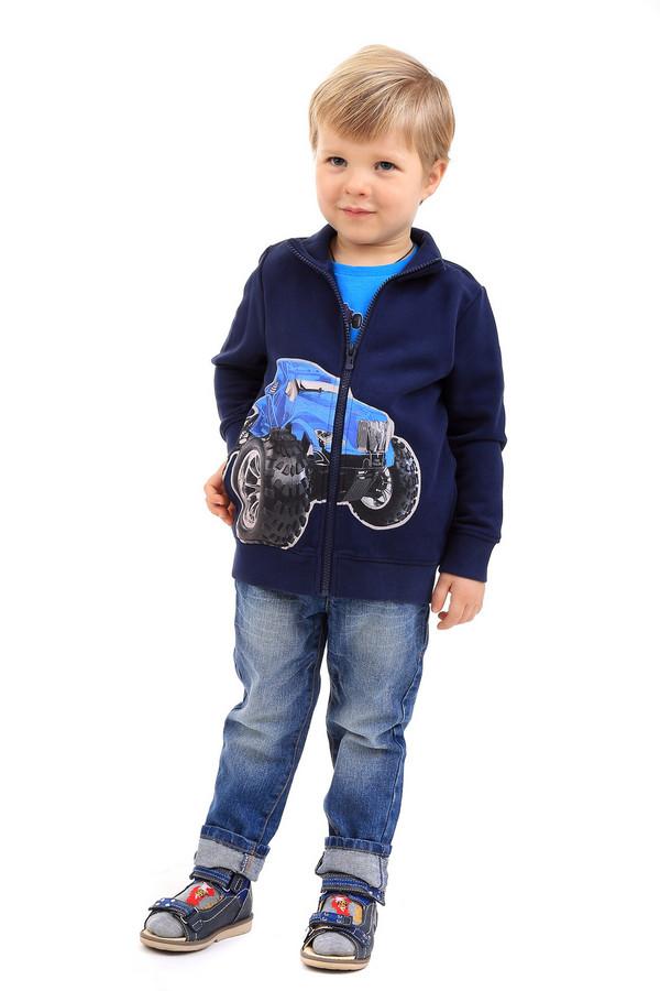 Кардиган Tom TailorКардиганы<br><br><br>Размер RU: 32-34;128-134<br>Пол: Мужской<br>Возраст: Детский<br>Материал: хлопок 100%<br>Цвет: Синий