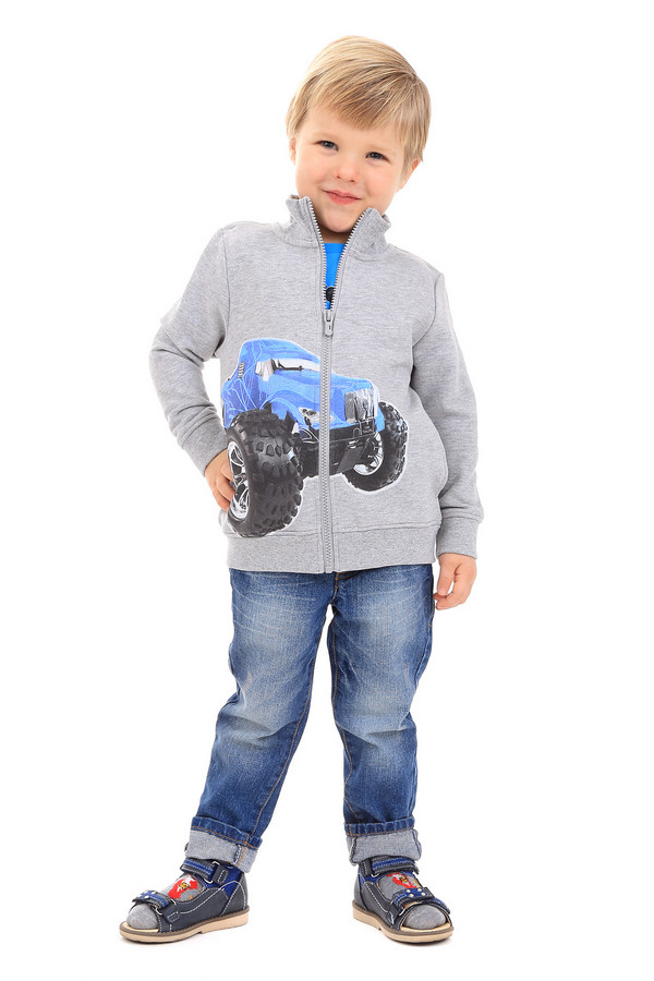 Кардиган Tom TailorКардиганы<br><br><br>Размер RU: 30;116-122<br>Пол: Мужской<br>Возраст: Детский<br>Материал: хлопок 100%<br>Цвет: Серый