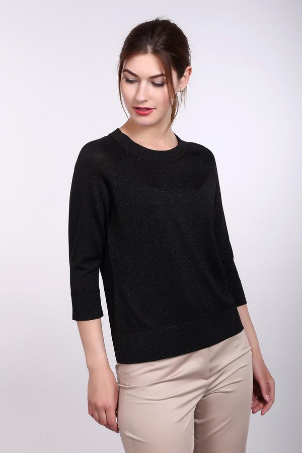 Пуловер PezzoПуловеры<br>Пуловер Pezzo черный. Милая и очаровательная вещь на каждый день. В таком пуловере вам будет очень уютно – он практичен, удобен, а к тому же красив. Обратите внимание на добавление в пряжу люрекса, что обеспечивает мерцающую фактуру изделия. Темные вещи, как известно, стройнят, поэтому в нем вы будете выглядеть еще элегантнее и очаровательнее. Состав: вискоза, полиэстер, полиамид, металл.