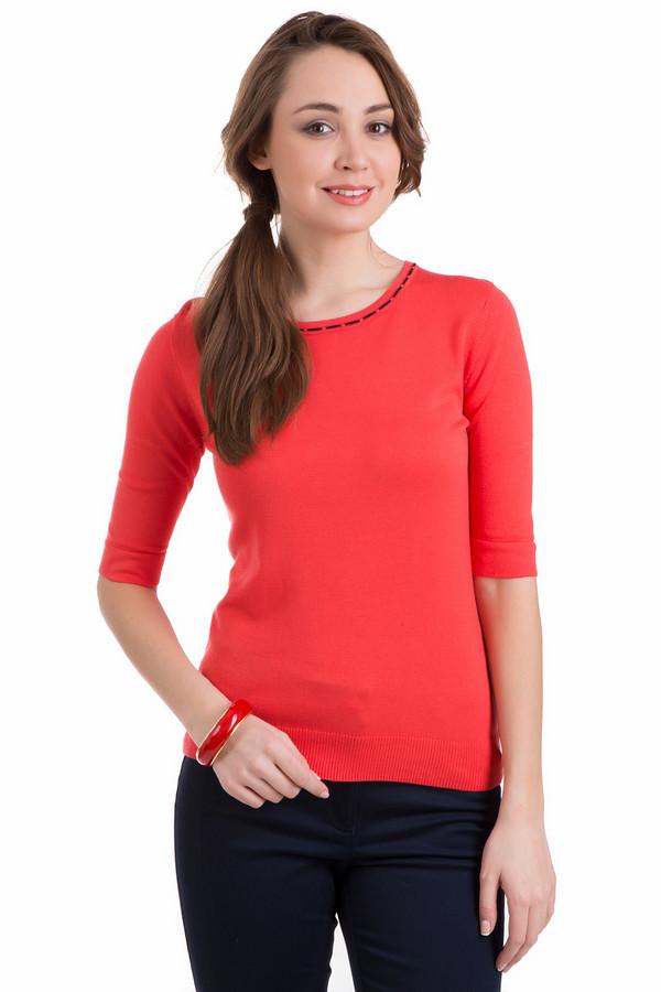 Пуловер PezzoПуловеры<br>Пуловер Pezzo красный. Черная отделка вокруг выреза горловины делает эту модель необычайно яркой и приятной. Вискоза и полиамид обеспечивают отменную посадку пуловера по фигуре. Демисезонное изделие с рукавом длиной до локтя. Прекрасно дополнит это изделие брюки и юбки разных стилей и фасонов.<br><br>Размер RU: 50<br>Пол: Женский<br>Возраст: Взрослый<br>Материал: полиамид 19%, вискоза 81%<br>Цвет: Красный