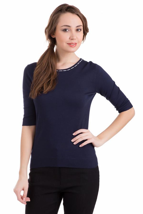 Пуловер PezzoПуловеры<br>Пуловер Pezzo синий. Замечательная вещь в темных тонах для женщин, которые хотят выглядеть стройнее. Демисезонный пуловер подойдет тем, кто ценит в одежде практичность и комфорт. Состав: вискоза, полиамид. Хорошо комбинируется пуловер с самым разным низом: как брюками, так и юбками.<br><br>Размер RU: 44<br>Пол: Женский<br>Возраст: Взрослый<br>Материал: полиамид 19%, вискоза 81%<br>Цвет: Синий