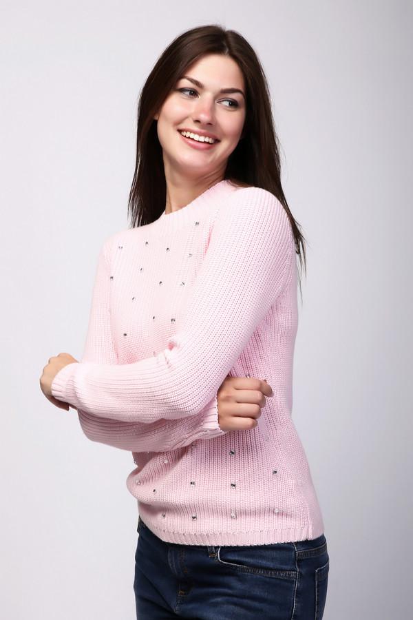 Пуловер PezzoПуловеры<br>Пуловер Pezzo розовый. Однотонная вязка этого пуловера выглядит особенно выигрышно в сочетании со стразами, которые украшают его поверхность. Состав: вискоза, хлопок. Зимой, весной или осенью, такой пуловер будет как нельзя более кстати в вашем гардеробе. Эта вещь позволит вам выглядеть соблазнительно и женственно в любую погоду.<br><br>Размер RU: 42<br>Пол: Женский<br>Возраст: Взрослый<br>Материал: хлопок 60%, вискоза 40%<br>Цвет: Розовый