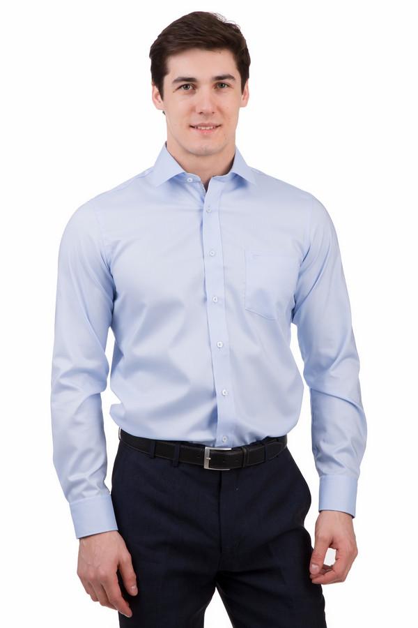 Рубашка с длинным рукавом Casa ModaДлинный рукав<br>Рубашка с длинным рукавом Casa Moda голубая. Эта милая вещь из 100%-ного хлопка придется по душе мужчинам, ведь ее строгий фасон и привлекательный оттенок – то, что не может оставить равнодушным. Состав ткани делает это изделие уместным в любое время года. Носите рубашку под пиджак или без него, под брюки или джинсы.<br><br>Размер RU: 39<br>Пол: Мужской<br>Возраст: Взрослый<br>Материал: хлопок 100%<br>Цвет: Голубой