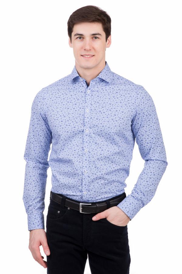Рубашка с длинным рукавом VentiДлинный рукав<br>Рубашка с длинным рукавом Venti разноцветная. Мелкий рисунок этой модели делает ее особенно желанной. Сочетание белого и синего с голубым фоном – отличная дизайнерская находка. Демисезонная вещь для тех, кто ценит стиль и элегантность. Состав: 100%-ный хлопок. Выигрышное решение для тех мужчин, которые любят производить эффект.<br><br>Размер RU: 40<br>Пол: Мужской<br>Возраст: Взрослый<br>Материал: хлопок 100%<br>Цвет: Разноцветный