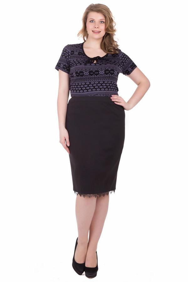 женская юбка-карандаш basler, черная