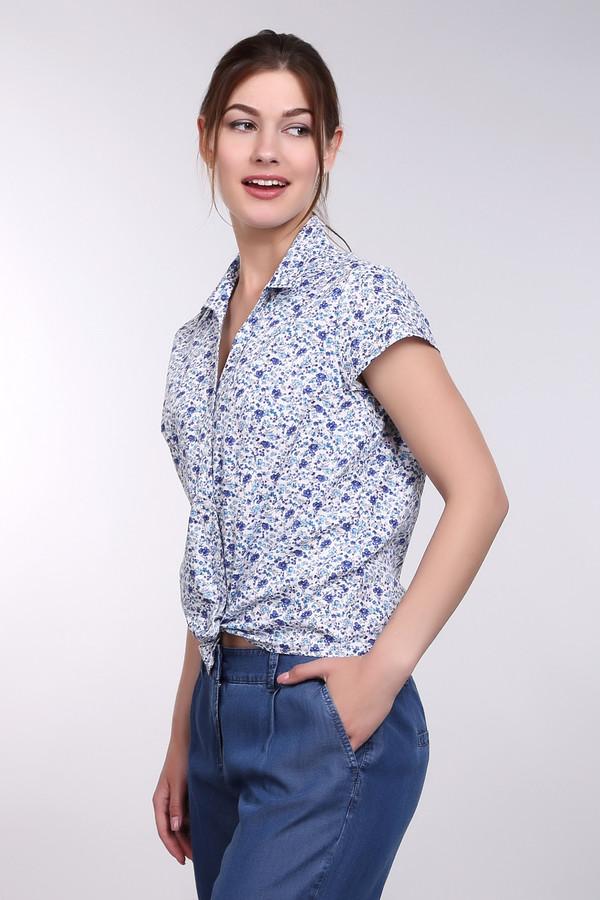 Блузa PezzoБлузы<br>Блузa Pezzo в мелкий рисунок. Белый, голубой и синий цвета образуют красивый гармоничный рисунок этого изделия. Некрупный узор с цветочными мотивами – оригинальное и очень изящное решение для женщин, ценящих уют и удобство при красоте изделия. Состав: 100%-ный хлопок, что делает блузу идеальной для теплых летних дней.<br><br>Размер RU: 50<br>Пол: Женский<br>Возраст: Взрослый<br>Материал: хлопок 100%<br>Цвет: Разноцветный