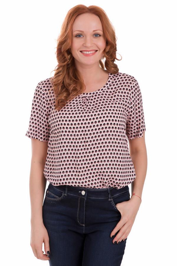 Блузa Gerry WeberБлузы<br>Блузa Gerry Weber розово-черная. Отличное решение для женщин, предпочитающих свободную непринужденную, но при этом красивую и элегантную одежду. Необычный графический узор - то, чем притягивает данная модель. Присборенная возле выреза горловины ткань – еще один козырь этой милой модели блузы. Состав: 100%-ная вискоза.<br><br>Размер RU: 46<br>Пол: Женский<br>Возраст: Взрослый<br>Материал: вискоза 100%<br>Цвет: Чёрный