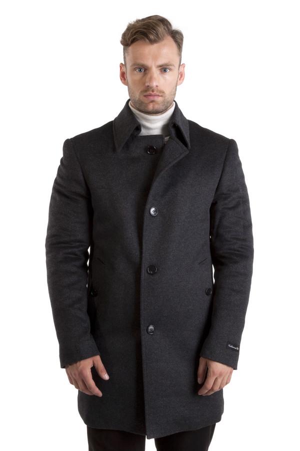 Пальто Just ValeriПальто<br>Стильное пальто Just Valeri представлено в двух цветах, темно-серое и темно-синее. Центральная часть изделия застегивается на пуговицы. Модель дополнена: отложным воротником, двумя боковыми кармана застежка-пуговица и двумя внутренними карманами. Идеально подойдет к деловому стилю, прекрасно будет смотреться с сорочками и классическими брюками.   Подкладка 70% полиэстер 30% вискоза.   Утеплитель 100% полиэстер.<br><br>Размер RU: 54<br>Пол: Мужской<br>Возраст: Взрослый<br>Материал: кашемир 5%, шерсть 95%<br>Цвет: Серый