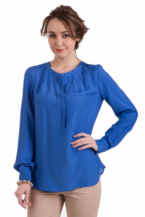 Блузa OuiБлузы<br>Блузa Oui синяя. Цвет электрик – всегда актуально. И это неудивительно – такой оттенок позволяет обладательнице вещи выглядеть моложе и элегантнее. Состав: 100%-ная вискоза. Отличная блуза, которая будет уместна как в офисе, так и на званом ужине. Особые детали – складочки на спинке и потайная застежка-поло спереди.<br><br>Размер RU: 44<br>Пол: Женский<br>Возраст: Взрослый<br>Материал: вискоза 100%<br>Цвет: Синий
