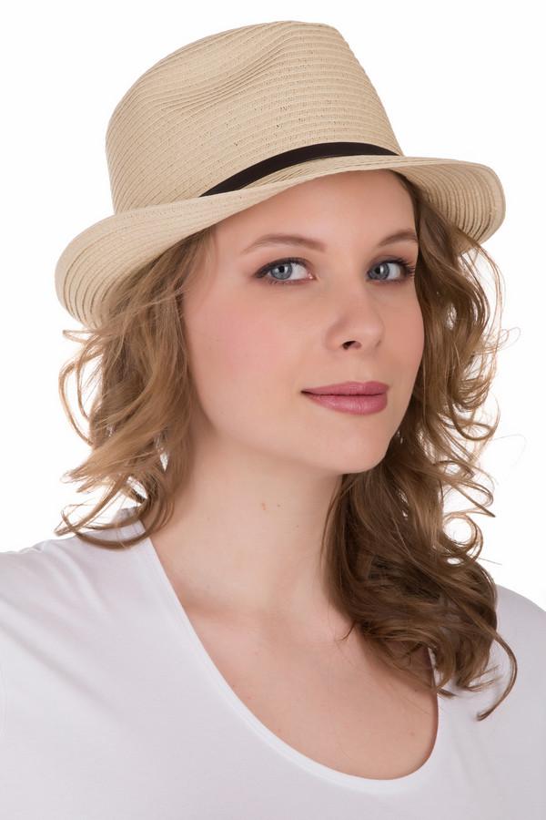 Шляпа PezzoШляпы<br>Шляпа Pezzo бежевая. Что может быть милее и удобнее летом, чем стильная соломенная шляпка? Предлагаемая модель выглядит суперсовременно благодаря своему силуэту и тонкой черной декоративной полоске по окружности изделия. Состав: 100%-ная солома. Сочетать эту милую модель можно с чем угодно.<br><br>Размер RU: один размер<br>Пол: Женский<br>Возраст: Взрослый<br>Материал: солома 100%<br>Цвет: Бежевый