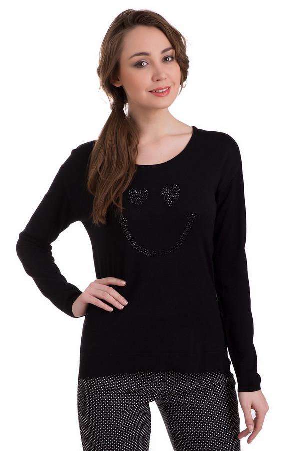 Пуловер PezzoПуловеры<br>Пуловер Pezzo черный женский. Отличная модель для женщины, которой нравится молодежный стиль в одежде и практичность, какая свойственна вещам в темных тонах. Такой пуловер стройнит, эта демисезонная вещь просто незаменима для прохладных весенних и осенних дней. Состав ткани: полиамид и вискоза.<br><br>Размер RU: 50<br>Пол: Женский<br>Возраст: Взрослый<br>Материал: полиамид 19%, вискоза 81%<br>Цвет: Чёрный