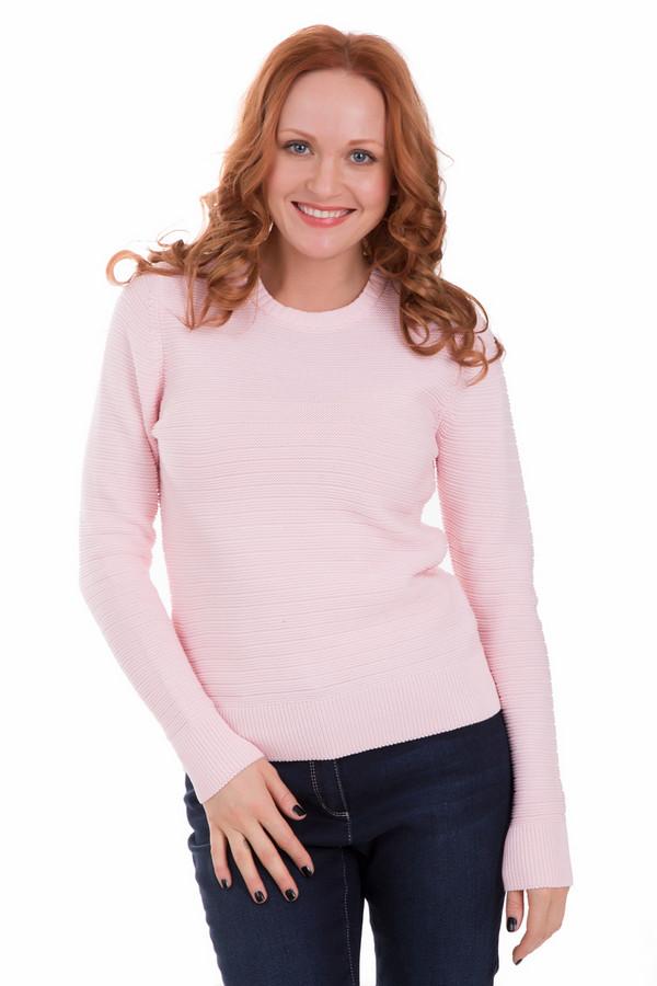 Пуловер PezzoПуловеры<br>Пуловер Pezzo розовый. Изящная полоска за счет рисунка вязки делает это изделие очень милым и привлекательным. Манжеты и низ пуловера выполнены традиционно – резинкой. Пастельные тона – это важная часть женской моды, одежда в такой цветовой гамме помогает дамам оставаться женственными и соблазнительными в любой ситуации.<br><br>Размер RU: 46<br>Пол: Женский<br>Возраст: Взрослый<br>Материал: хлопок 100%<br>Цвет: Розовый