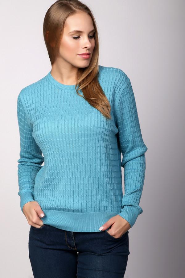 Пуловер PezzoПуловеры<br>Пуловер Pezzo голубой женский. Эта вещь оттенка морской волны очень приятна на вид и на ощупь. Состав: хлопок и акрил. Фантазийный рисунок из вертикальных полос выглядит просто восхитительно, в таком пуловере вы будете смотреться действительно сногсшибательно. Состав: хлопок и акрил. Чудесный комби-партнер для самых разных ансамблей.<br><br>Размер RU: 44<br>Пол: Женский<br>Возраст: Взрослый<br>Материал: хлопок 60%, акрил 40%<br>Цвет: Голубой