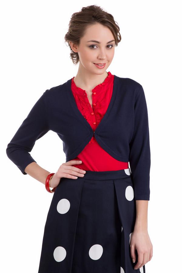 Жакет PezzoЖакеты<br>Жакет Pezzo темно-синий. Легкая и довольно изящная застежка спереди жакета позволяет продемонстрировать блузу или топ под ним. Практичный цвет и лаконичный крой – эти черты нашего жакета способствуют его неизменной популярности. Отлично комбинируется эта вещь с разными ансамблями: это могут быть платья и блузы, топы.<br><br>Размер RU: 50<br>Пол: Женский<br>Возраст: Взрослый<br>Материал: полиамид 19%, вискоза 81%<br>Цвет: Синий