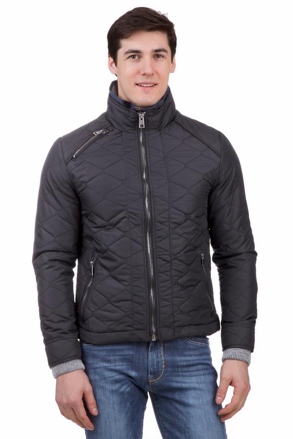 Куртка LocustКуртки<br>Куртка Locust черная. Это простеганное изделие выглядит очень стильно и гармонично. Застежка-молния и карманы на молнии – это очень удобно и практично, такая же деталь украшает и верхнюю часть курточки. Состав: 100%-ный нейлон, а подкладка – полиэстер. Модная и актуальная модель для тех, кто ценит свое время и следит за тенденциями в фешн-индустрии. Особенно хорошо выглядит такая курточка в комбинации с джинсами.<br><br>Размер RU: 56<br>Пол: Мужской<br>Возраст: Взрослый<br>Материал: нейлон 100%, Состав_подкладка полиэстер 100%<br>Цвет: Чёрный