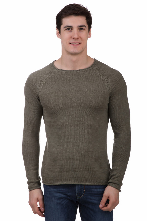 Джемпер LocustДжемперы и Пуловеры<br>Джемпер Locust зеленый мужской. Изделия кроя реглан выглядят на мужской фигуре очень мужественно. Облегающий силуэт данного джемпера подчеркнет достоинства телосложения представителей сильного пола. Изделие выполнено из хлопка и акрила, а потому великолепно носится. Оно понравится всем тем, кто ценит уют и комфорт в одежде.