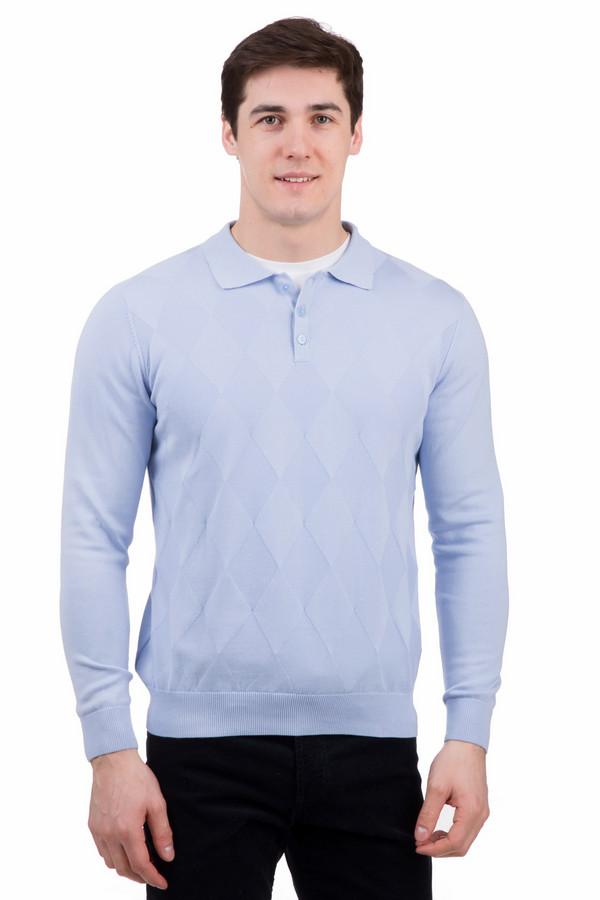 Джемпер PezzoДжемперы<br>Джемпер Pezzo голубой. Отличная модель для мужчины, которому нравится выглядеть стильно. Изделие с горловиной кроя поло и с рисунком ромбами привлекает к себе взгляд. Такая вещь понравится мужчине, ценящему практичность и красоту в одежде. Отменно сочетается джемпер с джинсами, а также с классическими брюками. Состав: 100%-ный хлопок.<br><br>Размер RU: 54<br>Пол: Мужской<br>Возраст: Взрослый<br>Материал: хлопок 100%<br>Цвет: Голубой