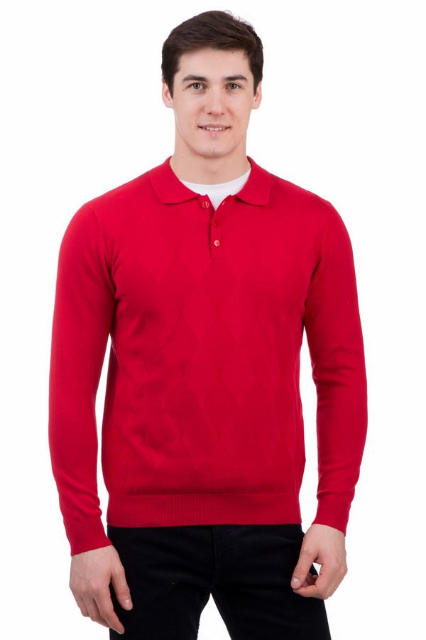 Джемпер PezzoДжемперы<br>Джемпер Pezzo красный. Этот цвет только набирает популярность в мужской моде. Внимание к нему вполне заслуженно. Такой выбор подчеркнет вашу неординарность, если вы покупаете такой джемпер, то можете быть уверены, что внимание вам обеспечено. Демисезонное изделие украшает спереди красивый ромбовидный узор. Рукава и спинка выполнены обычной вязкой. Это отменный выбор для сильных и стильных.<br><br>Размер RU: 52<br>Пол: Мужской<br>Возраст: Взрослый<br>Материал: хлопок 100%<br>Цвет: Красный
