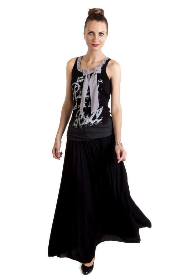 Юбка LocustЮбки<br>Черная расклешенная юбка от бренда Locust выполнена из вискозного материала с добавлением шерсти. Изделие дополнено эластичным поясом с регулируемым шнурком.<br><br>Размер RU: 44-46<br>Пол: Женский<br>Возраст: Взрослый<br>Материал: шерсть 20%, вискоза 80%<br>Цвет: Чёрный