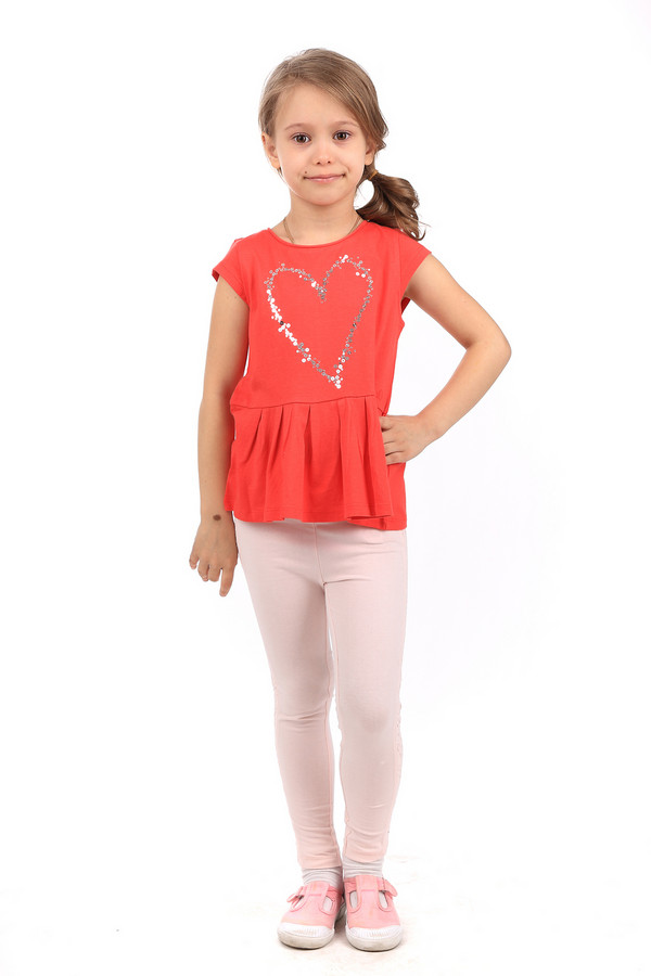 Брюки Tom TailorБрюки<br><br><br>Размер RU: 30;116-122<br>Пол: Женский<br>Возраст: Детский<br>Материал: эластан 5%, хлопок 95%<br>Цвет: Розовый