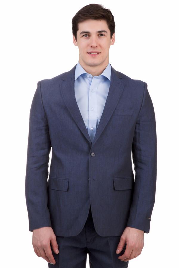 Пиджак Just ValeriПиджаки<br>Пиджак Just Valeri синий. Классическая вещь, столь необходимая в гардеробе мужчины вне зависимости от его возраста и стиля. Для деловой встречи такой предмет одежды просто незаменим, да и женщинам очень часто нравятся мужчины, предпочитающие костюмы и пиджаки. Летнее изделие из 100%-ного льна.<br><br>Размер RU: 52<br>Пол: Мужской<br>Возраст: Взрослый<br>Материал: лен 100%<br>Цвет: Синий