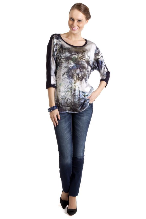 Купить Модные джинсы Locust, Турция, Синий, хлопок 98%, лайкра 2%