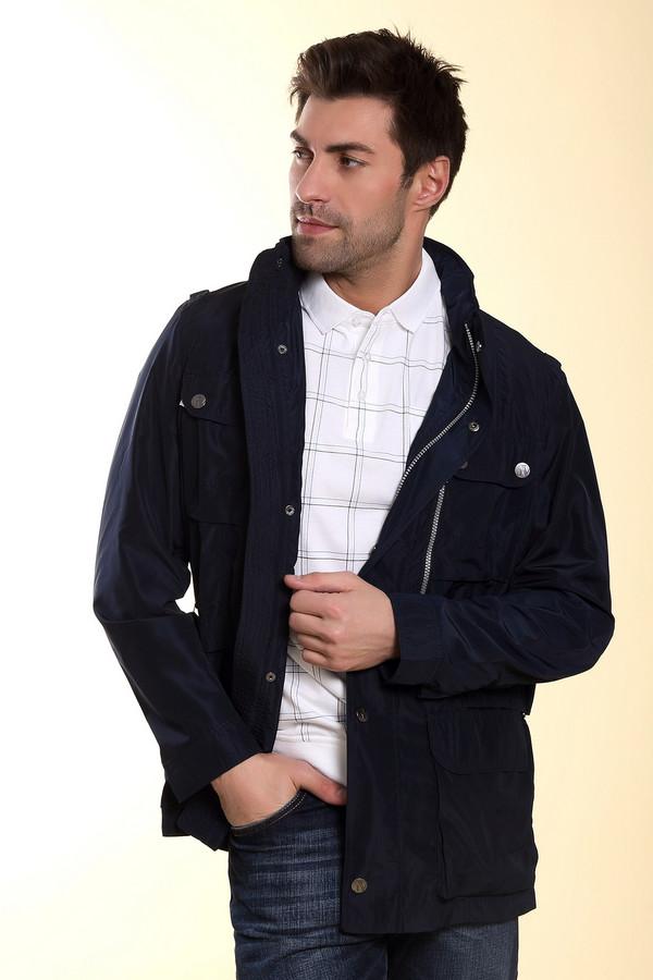 Куртка Just ValeriКуртки<br>Куртка Just Valeri темно-синяя. Восхитительная модель для мужчины, который любит выглядеть стильно в любое время года. Обилие накладных карманов и двойная застежка (молния и кнопки) делают эту модель к тому же очень функциональной. Состав: 100%-ный полиэстер. По бокам ширина курточки регулируется с помощью пряжек.<br><br>Размер RU: 52<br>Пол: Мужской<br>Возраст: Взрослый<br>Материал: полиэстер 100%<br>Цвет: Синий