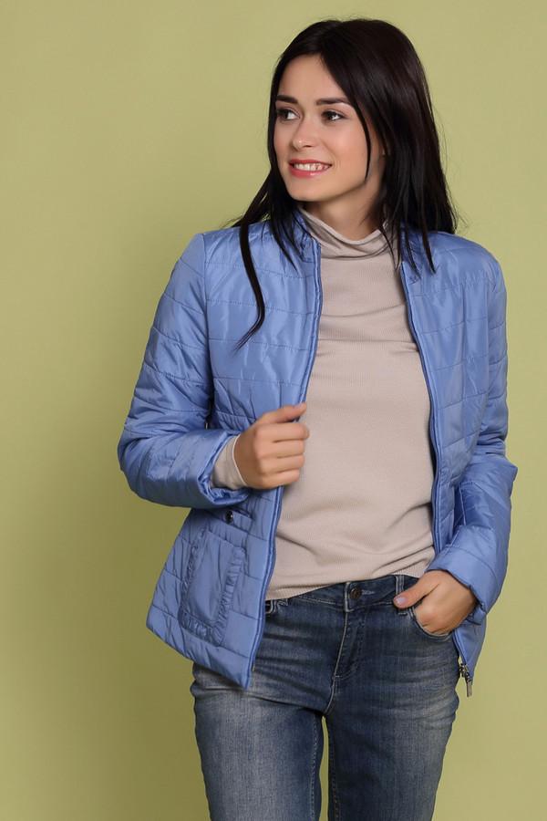 Куртка PezzoКуртки<br>Куртка Pezzo синяя. Модель отлично сидит благодаря своему удобному крою. Приятный глазу оттенок синего цвета понравится ценителям всего яркого. Декоративные карманы придают курточке особого очарования. Состав: 100%-ный нейлон. Замечательная демисезонная вещь. Идет как под брюки классического стиля, так и под джинсы и юбки.<br><br>Размер RU: 42<br>Пол: Женский<br>Возраст: Взрослый<br>Материал: нейлон 100%<br>Цвет: Синий