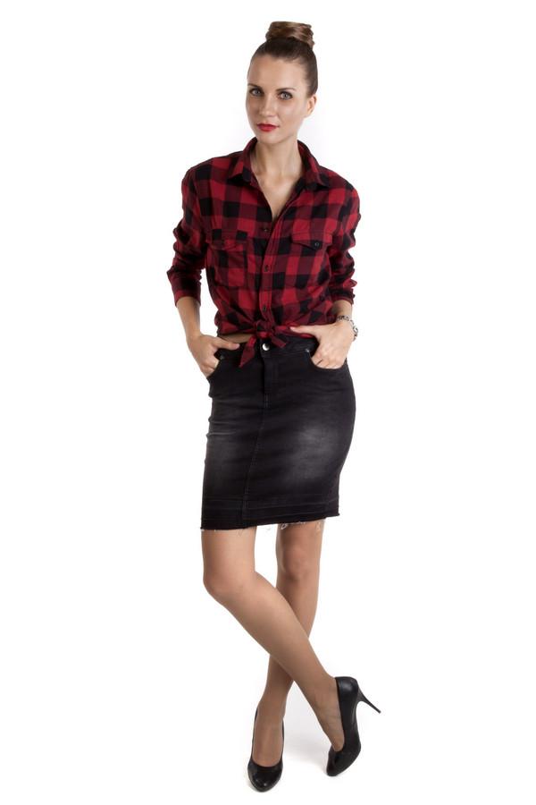 Юбка SetЮбки<br>Летняя юбка-карандаш Set черного и серого цветов. Выполнена из хлопка и эластана. В наличии боковые и задние карманы, застежка в виде молнии и пуговицы. Она дополнена искусственно сделанными потертостями по бокам и вытянутыми белыми нитками снизу. Оригинальные детали позволяют экспериментировать с фактурами и стилями.<br><br>Размер RU: 44<br>Пол: Женский<br>Возраст: Взрослый<br>Материал: хлопок 98%, эластан 2%<br>Цвет: Серый