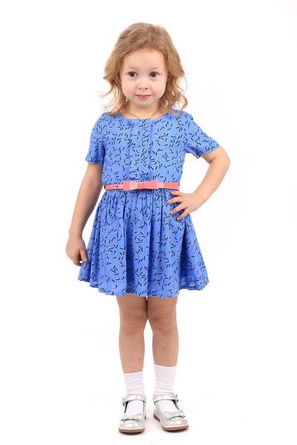 Платье Tom TailorПлатья<br><br><br>Размер RU: 28;104-110<br>Пол: Женский<br>Возраст: Детский<br>Материал: вискоза 100%<br>Цвет: Синий