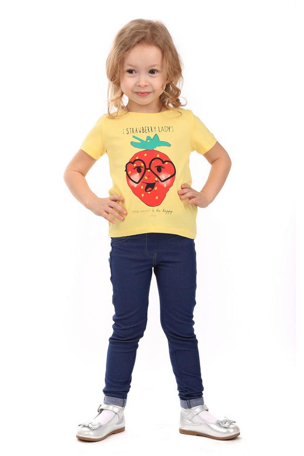 Футболки и поло Tom TailorФутболки и поло<br><br><br>Размер RU: 28;104-110<br>Пол: Женский<br>Возраст: Детский<br>Материал: хлопок 100%<br>Цвет: Жёлтый