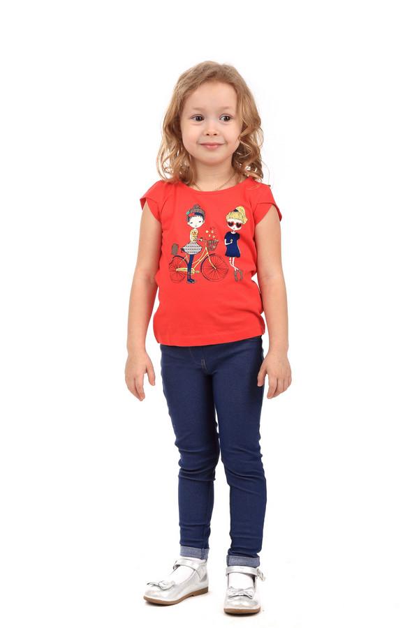 Футболки и поло Tom TailorФутболки и поло<br><br><br>Размер RU: 30;116-122<br>Пол: Женский<br>Возраст: Детский<br>Материал: хлопок 100%<br>Цвет: Красный